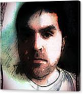 Self Portrait Metal Canvas Print