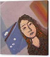 Self-portrait2 Canvas Print