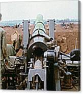 Self-propelled 8 Inch Howitzer M110 Lz Oasis R V N 1968 Canvas Print