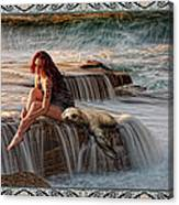 Selkie Girl Canvas Print