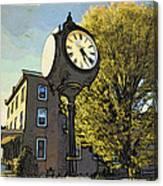 Sellersville Time Canvas Print