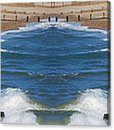 Selsey Mirrored Canvas Print