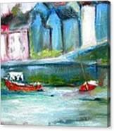 Semi Abstract Landscape Canvas Print