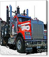 Semi Trucks Catr3120-13 Canvas Print