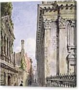 Senate House Passage, Cambridge, 1843 Canvas Print