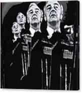 Senator Eugene Mccarthy  Collage Democratic Nat'l Convention Miami Beach Florida 1972-2012  Canvas Print