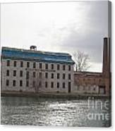 Seneca Falls Knitting Mill Canvas Print