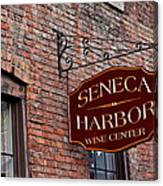 Seneca Harbor Wine Center Canvas Print