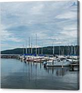Seneca Lake Harbor - Watkins Glen - Wide Angle Canvas Print