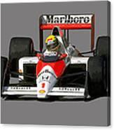 Senna '89 Canvas Print