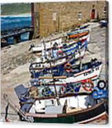 Sennen Cove Fishing Fleet Canvas Print