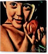 Sense Of Innocence  Canvas Print