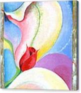 Sensitive Touch Canvas Print