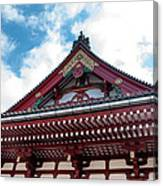 Sensoji Temple Canvas Print