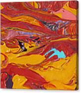 Sensuous Moves Canvas Print