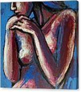Sentimental Mood- Female Nude Canvas Print