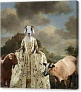 Separating The Sheep From The Goats Canvas Print