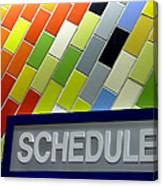 Septa Schedules Canvas Print
