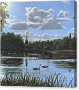 September Afternoon In Clumber Park Canvas Print
