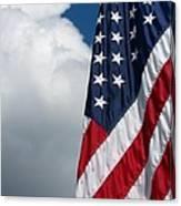 September Flag Canvas Print