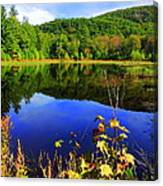 September Reflections Canvas Print