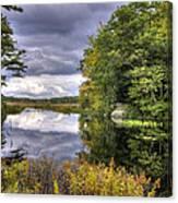 September Storm Clouds Canvas Print