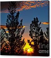 September Sunrise Canvas Print