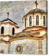 Serbian Orthodox Church - San Marcos California Canvas Print