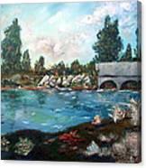 Serene River Canvas Print