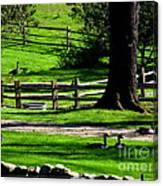 Serenity At Tashmoo Farm Canvas Print