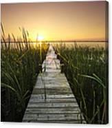 Serenity At The Lake Canvas Print