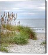 Serenity Beach In Color Canvas Print