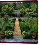 Serenity Garden. Canvas Print