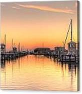 Serenity Harbor 1 Canvas Print