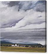 Serenity In The Skagit Valley Canvas Print