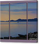 Serenity Tryptych Canvas Print