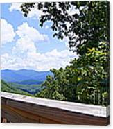 Serenity View Canvas Print