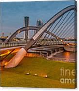 Seri Empangan Bridge Canvas Print