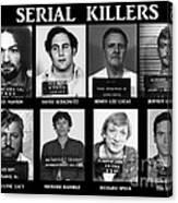 Serial Killers - Public Enemies Canvas Print