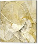 Series Abstract Art In Earth Tones 1 Canvas Print