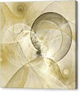 Series Abstract Art In Earth Tones 3 Canvas Print