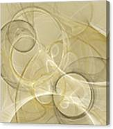 Series Abstract Art In Earth Tones 4 Canvas Print