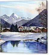 Serre Chevalier Canvas Print