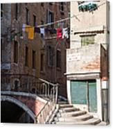 Sestier San Polo - Venice Canvas Print