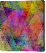 Set Sails On The Open Sea Abstract Canvas Print
