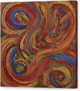 Set To Music - Original Abstract Painting Painting - Affordable Art Canvas Print