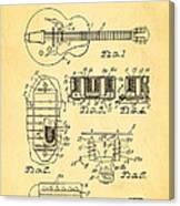Seth Lover Gibson Humbucker Pickup Patent Art 1959 Canvas Print