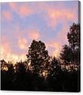 Setting Sky Canvas Print