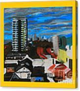 Settle Point  - Plaistow East London Canvas Print
