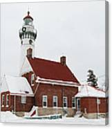 Seul Choix Point Lighthouse Canvas Print